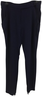 Vionnet Blue Trousers for Women