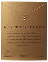 Dogeared Key To Success Necklace 16""