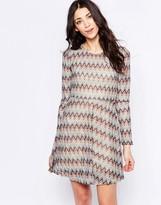 Glamorous Striped Skater Dress