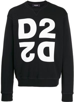 DSQUARED2 double D2 logo sweatshirt