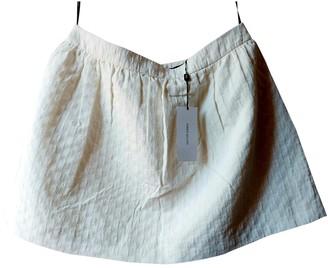 Karen Millen White Cotton Skirt for Women