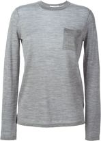 Alexander Wang patch pocket sweater - women - Silk/Merino - XS