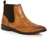 Base London Tan 'compton' Chelsea Boots