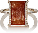 Monique Péan Women's White Diamond & Rutile Ring