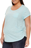 A.N.A a.n.a Short Sleeve Scoop Neck T-Shirt-Plus Maternity