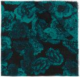 Giorgio Grati floral print scarf