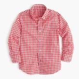 J.Crew Kids' Secret Wash shirt in bright gingham