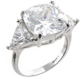 Kenneth Jay Lane Cushion Cut Ring