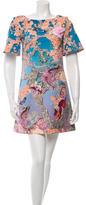 Mary Katrantzou Digital Print Mini Dress