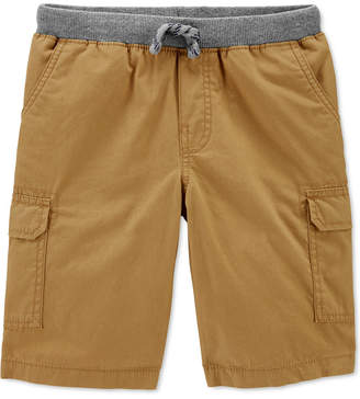 Carter's Carter Little & Big Boys Cotton Pull-On Cargo Shorts