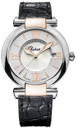 Chopard Rose Gold and Mother-of-Pearl Imperiale Watch 36mm