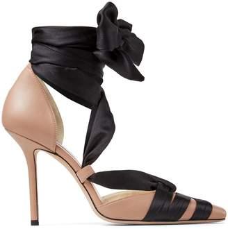 Jimmy Choo Tie-Ankle Loren Sandals 100