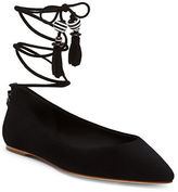 Brian Atwood Skylar Lace-Up Point Toe Flats
