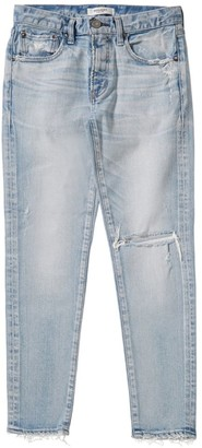 Moussy MV Vivian Destroyed Skinny Ankle Jeans