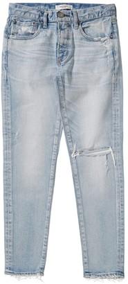 Moussy MV Vivian Destroyed Skinny Ankle Jeans