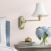 Clitherow Swing Arm Lamp Charlton Home Finish: Brass