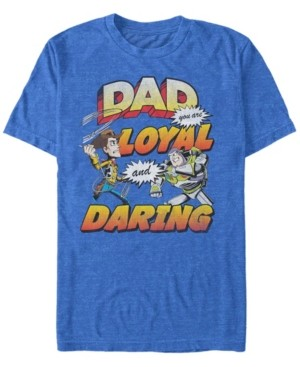 Disney Pixar Men's Toy Story Dad You are Loyal, Short Sleeve T-Shirt