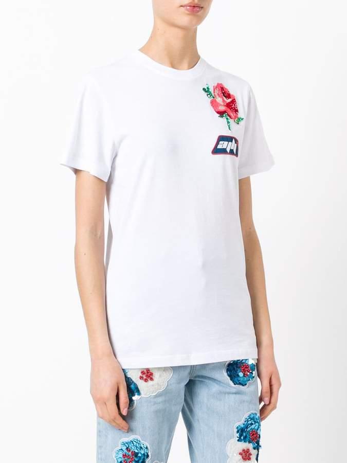 Au Jour Le Jour patch detail T-shirt