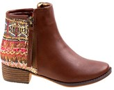 Nanette Lepore Kids' Aztec Print Block Heel Ankle Boot Pre/Grade School