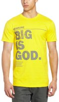 Rocawear Men's Short Sleeve Big Is God Tee