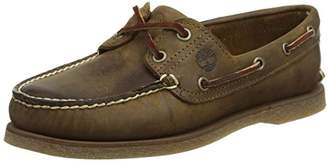 Timberland Men's Classic 2 Eye Boat Shoes, Brown (Gaucho Roughcut Smooth), (46 EU)