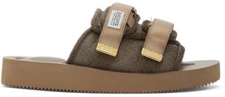 Suicoke Brown MOTO-VHL Sandals