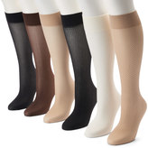 Apt. 9 6-pk. Trouser Socks
