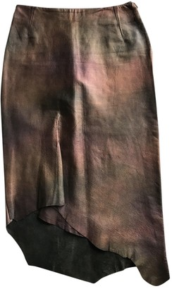 Martine Sitbon Leather Skirt for Women Vintage