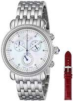 GV2 by Gevril Women's 9801 Marsala Stainless Steel Watch With Interchangeable Bands