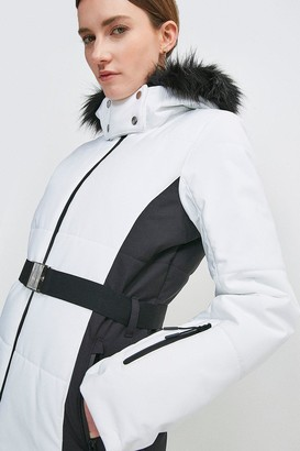 Karen Millen Colour Block Ski Jacket