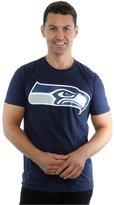 Majestic Men's NFL Seattle Seahawks Logo T-Shirt X-Large Deep Navy