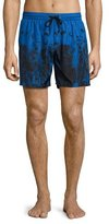 Diesel Waves Swim Trunks, Blue
