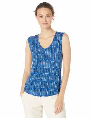 Nic+Zoe Women's Check IT Out TOP