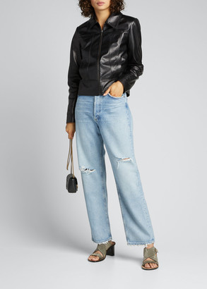 AGOLDE 90s Distressed Boyfriend Jeans