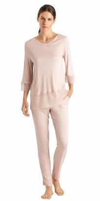 Hanro Women's Imani 3/4 Sleeve Pajama Set