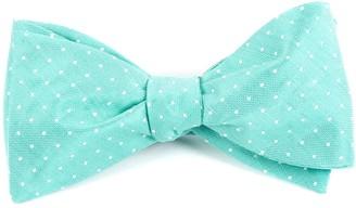 Tie Bar Destination Dots Mint Bow Tie