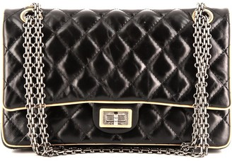 Chanel Pre Owned 2.55 Diamond Quilted Shoulder Bag