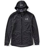 Under Armour Mens UA TechTM Terry Fitted Full Zip Hoodie