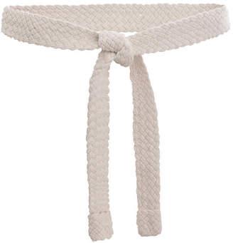 Zimmermann Woven Cord Tie Long Belt