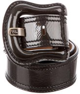 Fendi Patent Leather Belt
