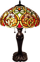 AMORA Amora Lighting AM114TL16 Tiffany Style Victorian Table Lamp 24 Inches