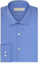 MICHAEL Michael Kors Men's Slim-Fit Non-Iron Twill Solid Dress Shirt