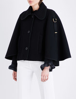 Chloé Buckled wool-blend jacket