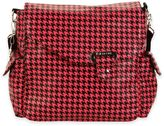 Kalencom Ozz Messenger Bag in Pink/Black Houndstooth