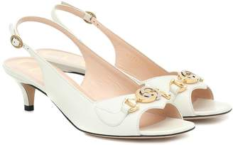 Gucci Zumi slingback sandals