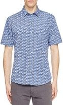 Zachary Prell Furniss Regular Fit Button Down Shirt