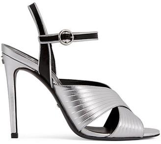 Gucci Women's Metallic Leather Sandals