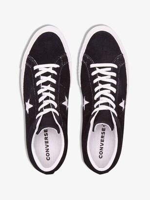 Converse Black One Star Low Top Sneakers