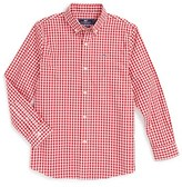 Vineyard Vines Boy's Nottingham Gingham Woven Shirt