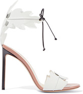 Francesco Russo Leather Sandals - White